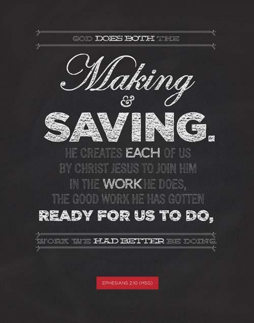 Ephesians 2:10 (PSD)