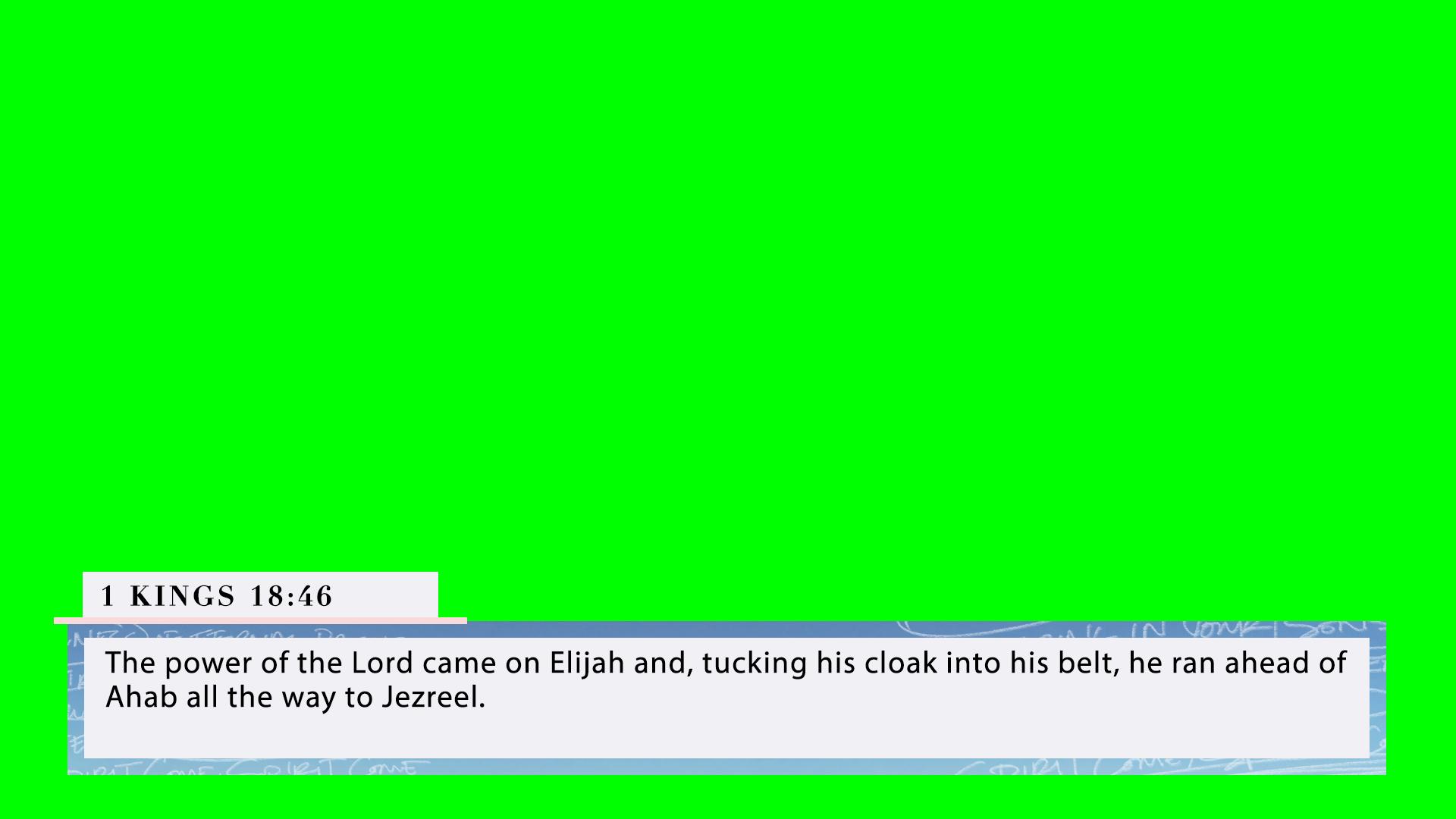 1 Kings 18:46 (PNG)