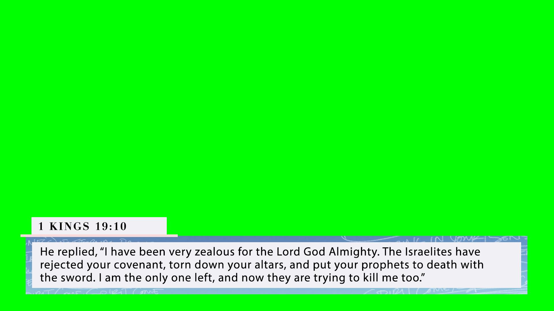 1 Kings 19:10 (PNG)