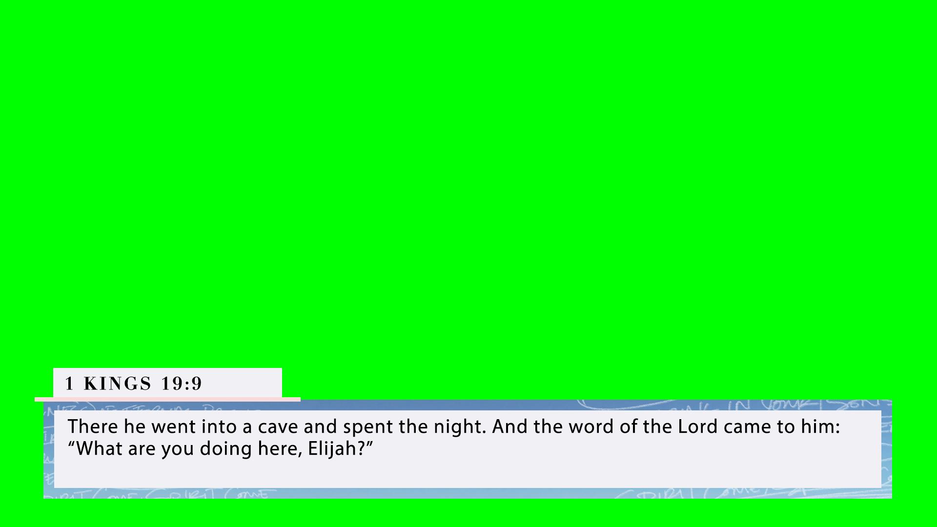 1 Kings 19:9 (PNG)