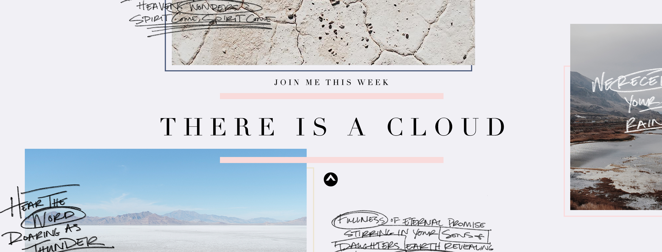 Facebook Banner - Join Me This Week (PSD)