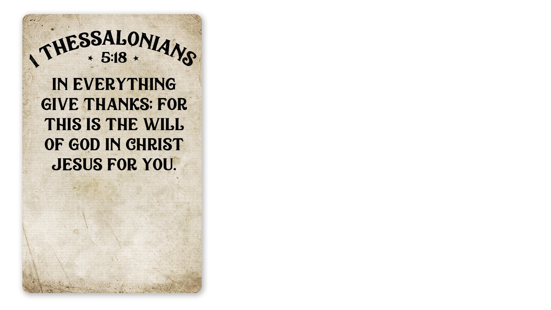 12 - 1 Thessalonians 5:18 (PNG)