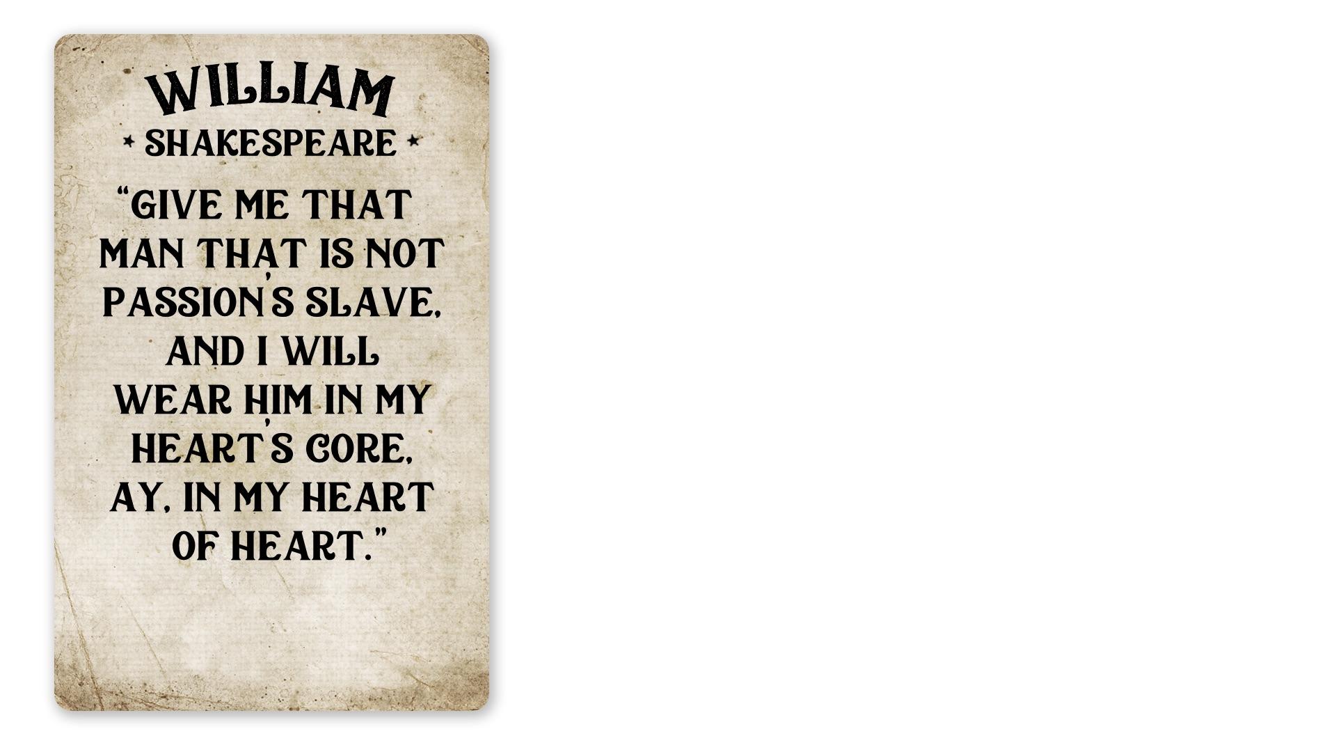 15 - William Shakespeare quote (PNG)