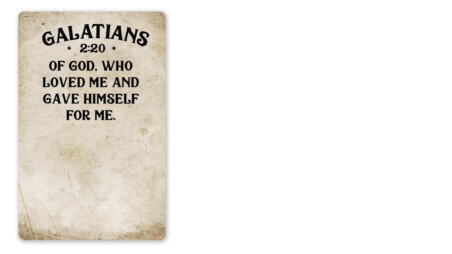 25 - Galatians 2:20 B (PNG)