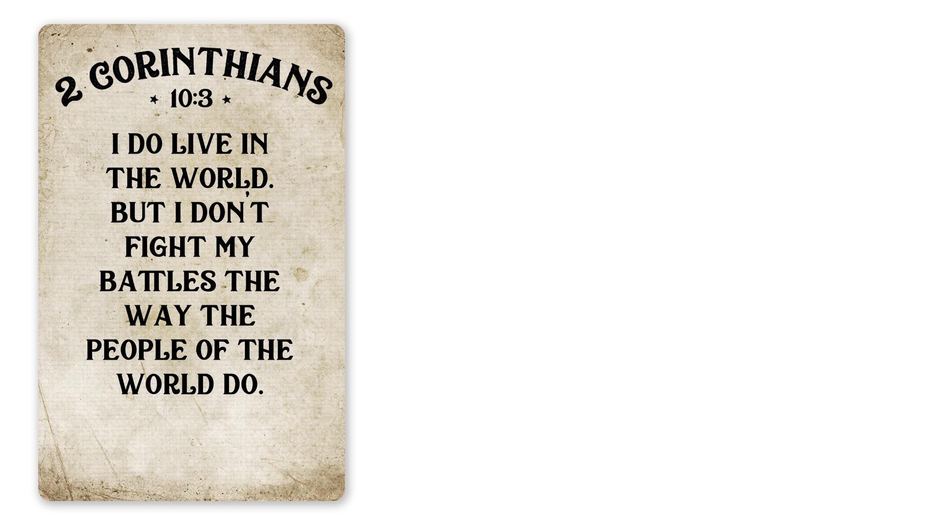 04 - 2 Corinthians 10:3 (PNG)