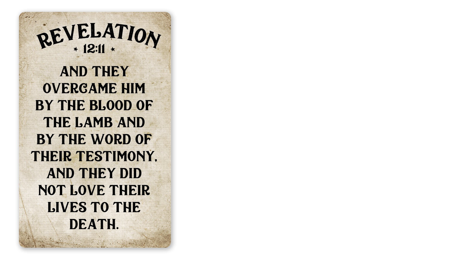 12 - Revelation 12:11 (PNG)