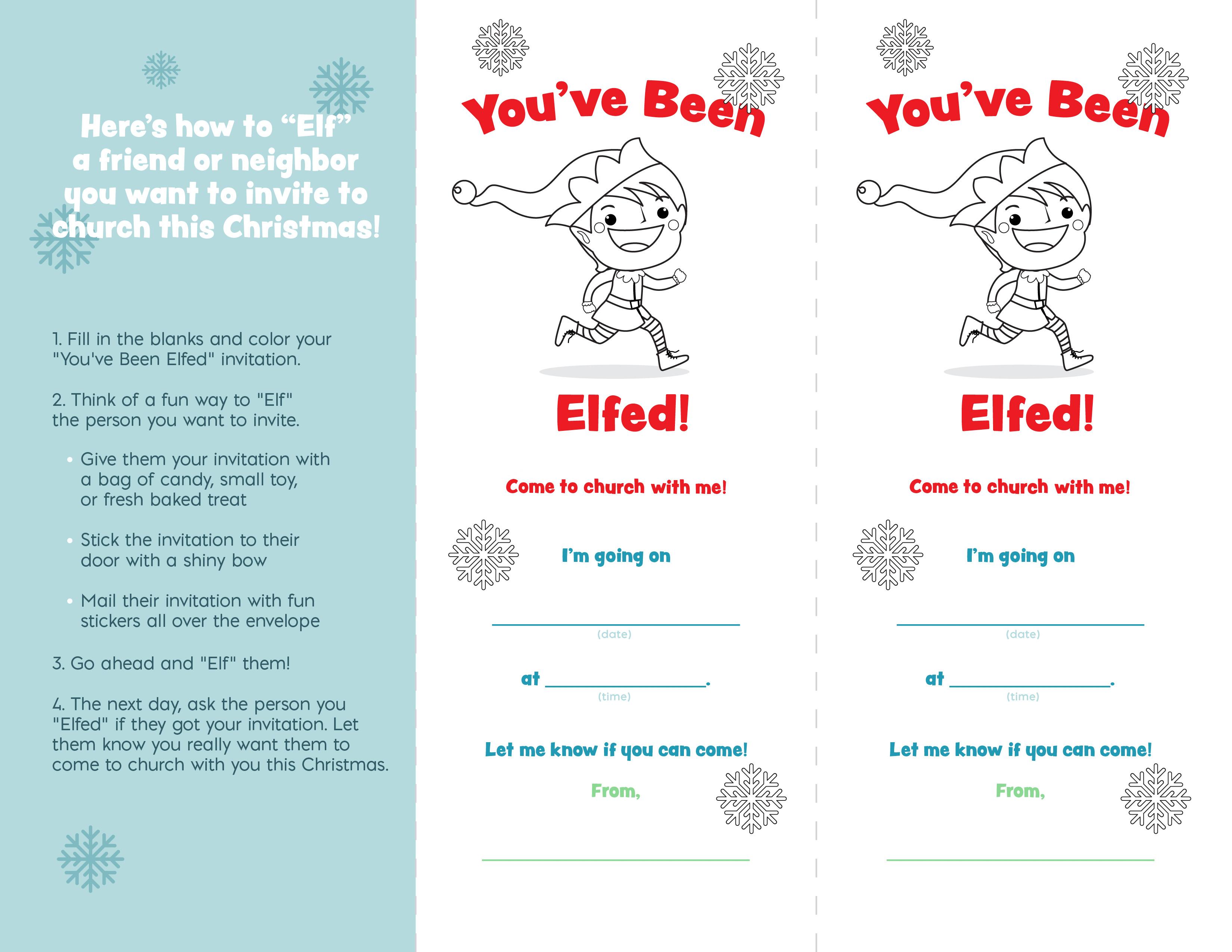 You've Been Elfed Flyer (JPG)