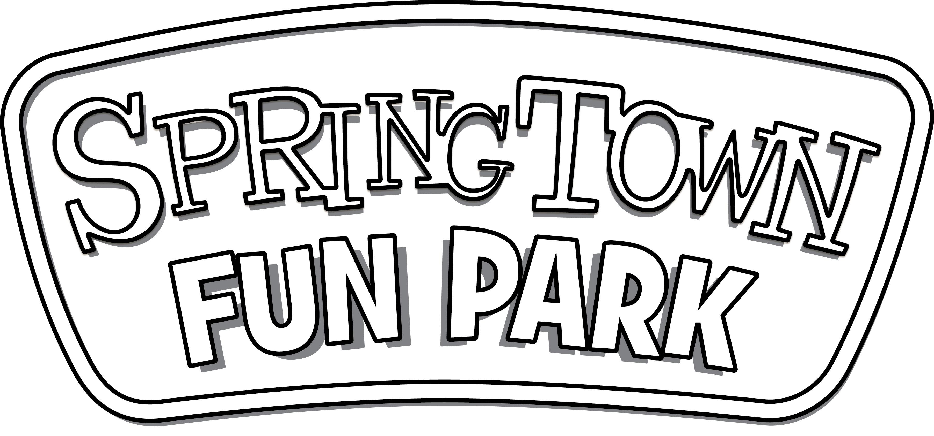 Fun Park Sign - BW (JPG)