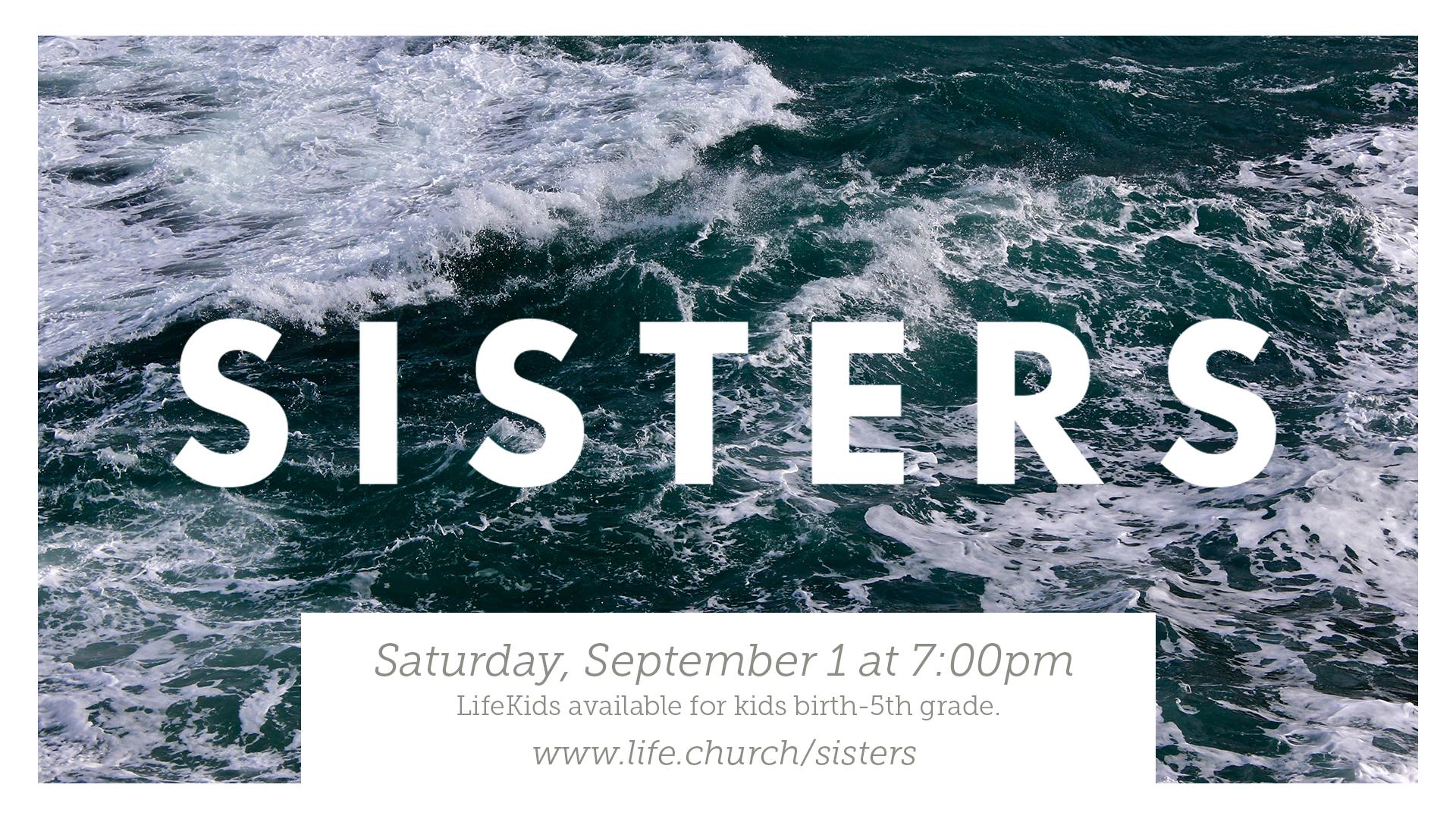 Sisters Event Slide - Editable .PSD