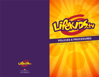 LifeKids.tv Policy and Procedure Manual Front (AI)