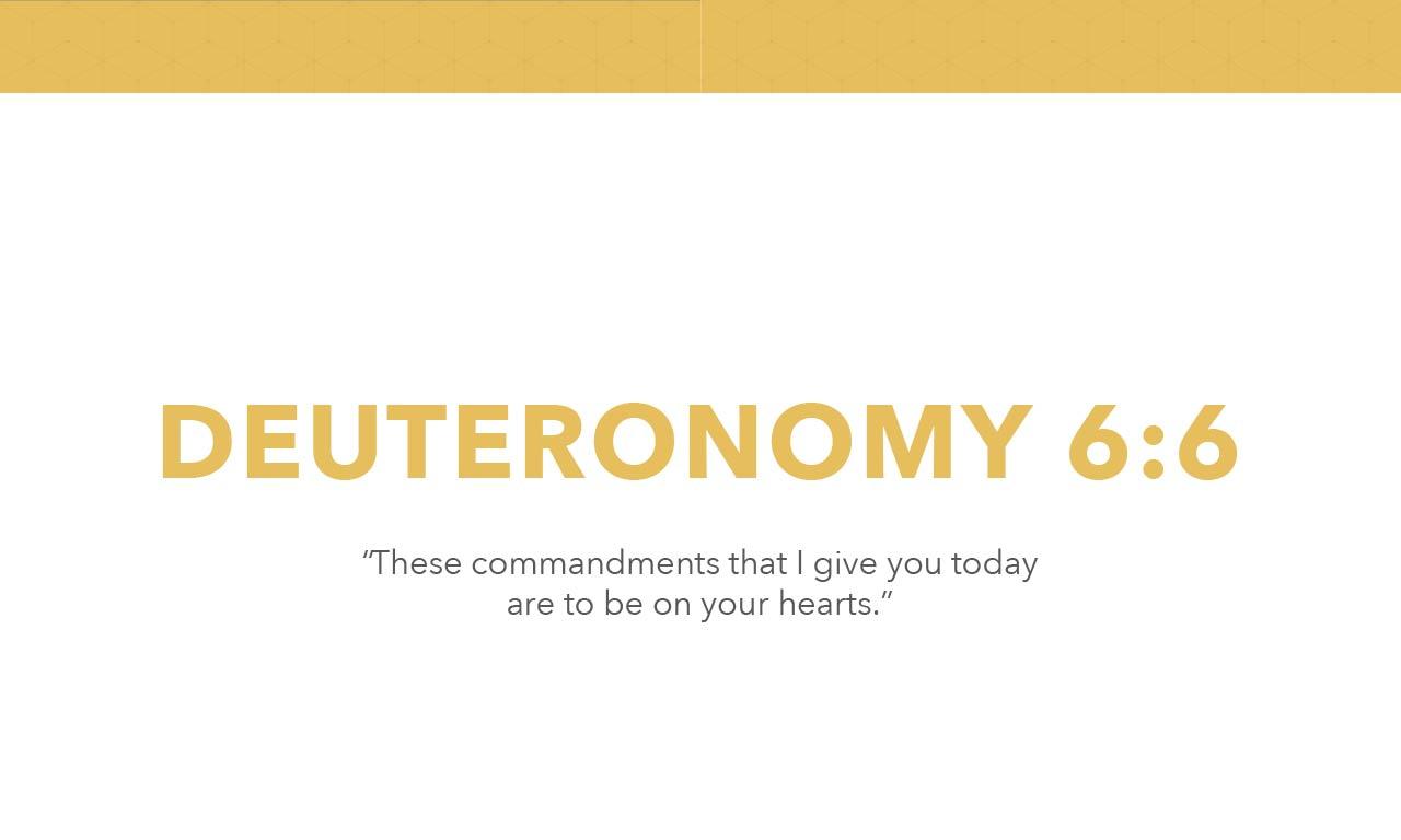 Deuteronomy 6:6 (JPG)