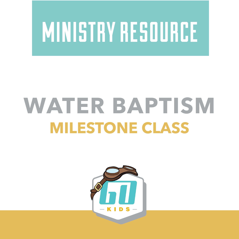 Water Baptism (PNG)