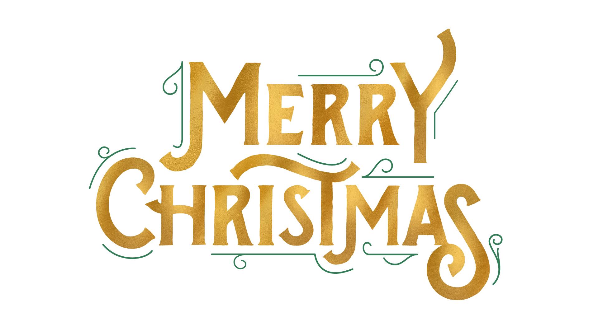 Merry Christmas Logo (AI)