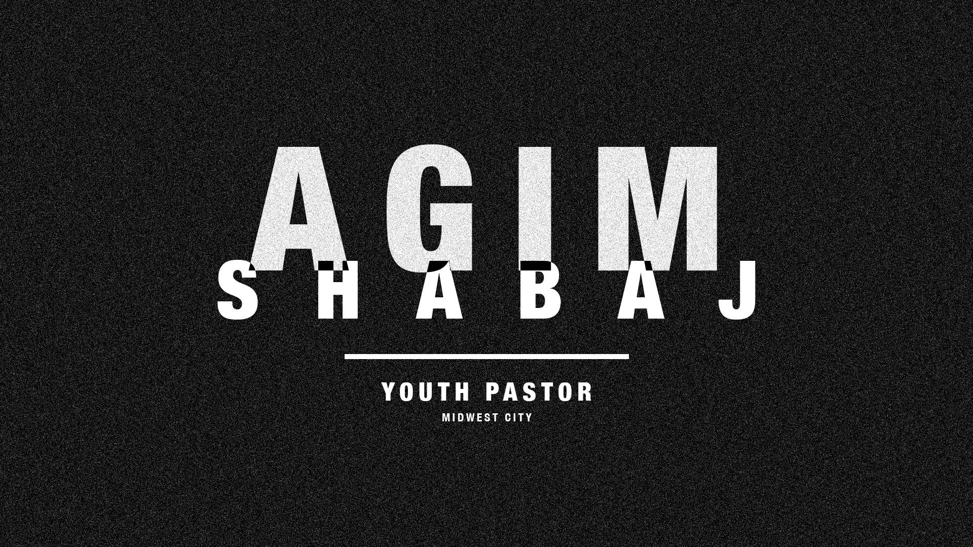 Youth Pastor Slide - black (PSD)