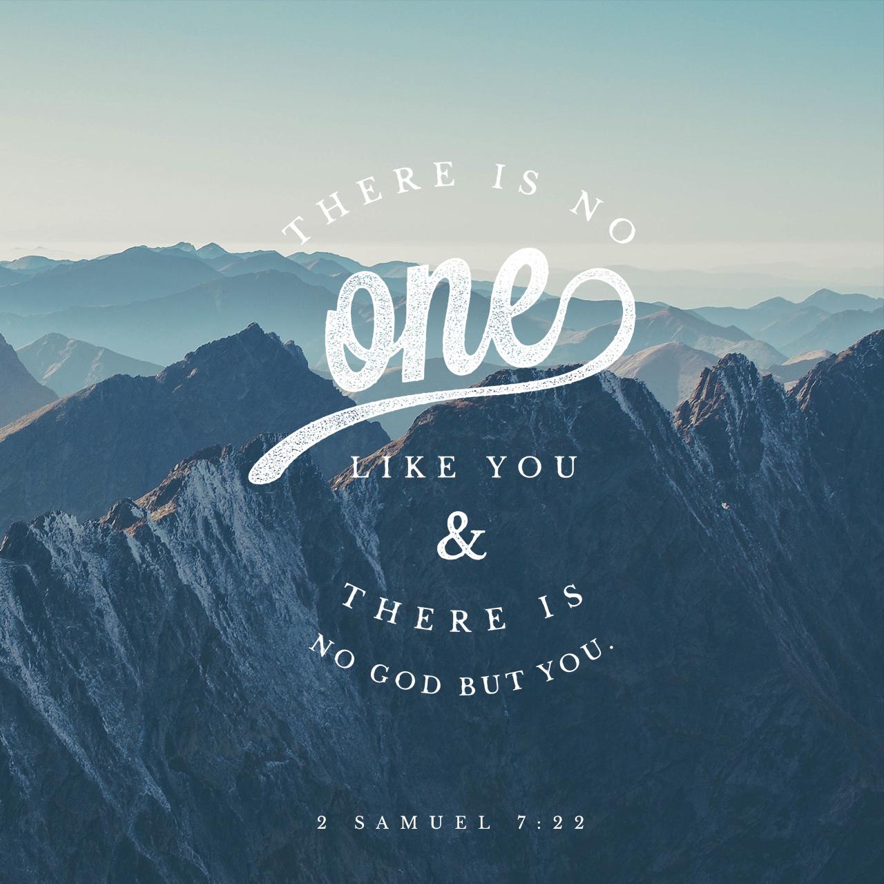 2 Samuel 7:22 (JPG)