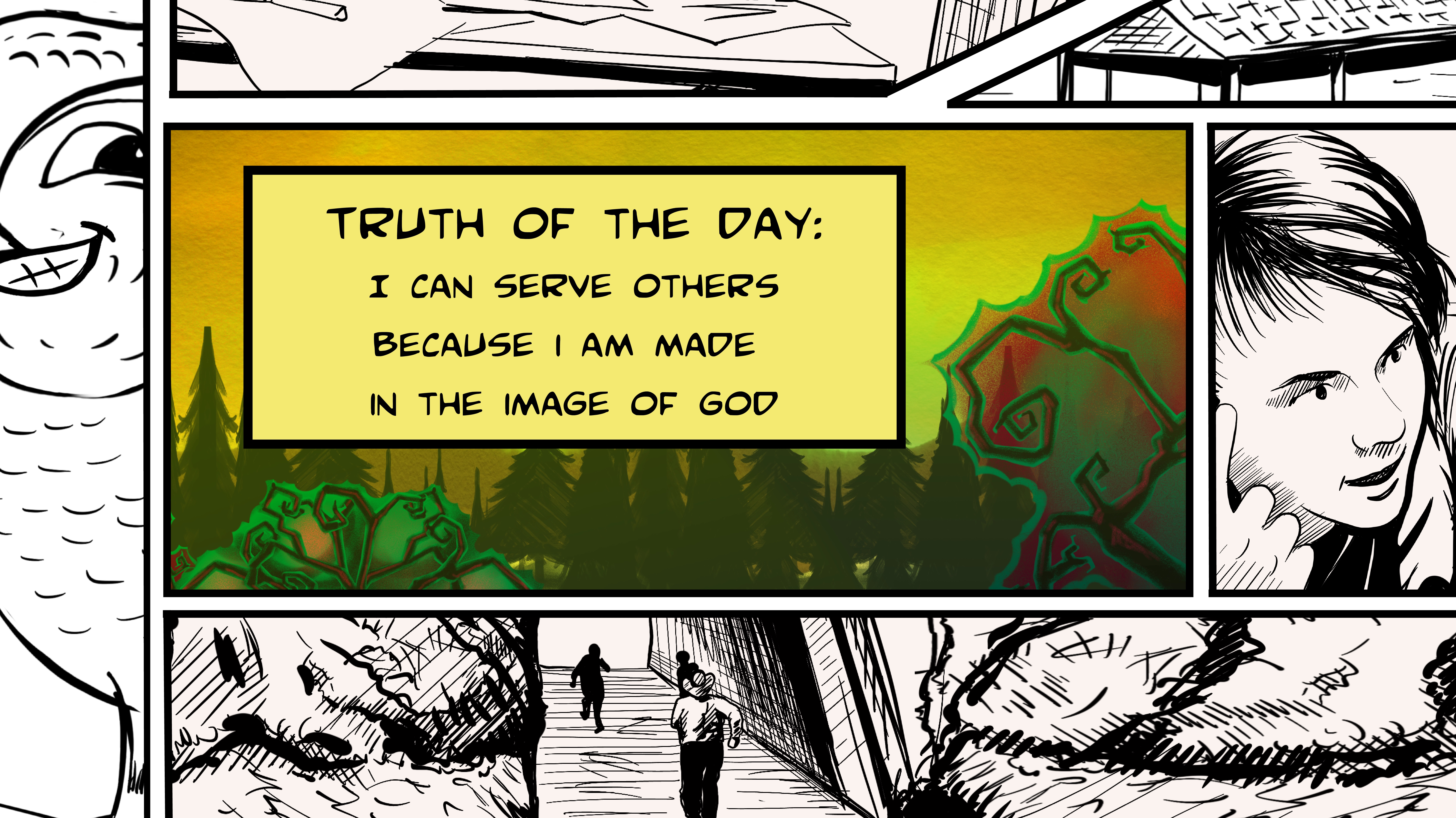 Truth Of The Day - Day 4 (PNG)