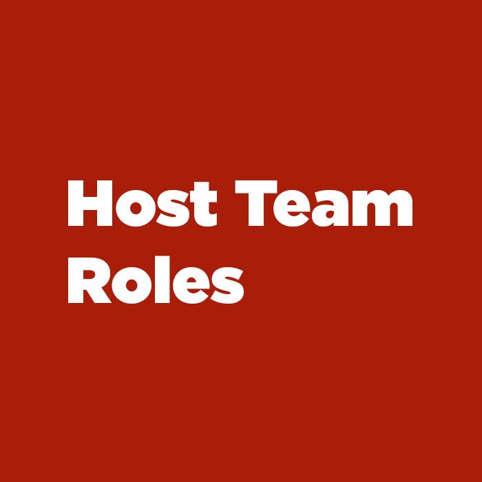 Host Team Roles