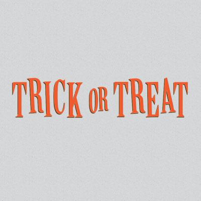 Trick-Or-Treat Invitations